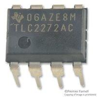 TEXAS INSTRUMENTS TLC2272ACP IC, OP-AMP, 2.18MHz, 3.6V/us, 950µV, DIP-8 (5 pieces)