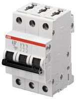 Circuit Breaker, Thermal Mag, 3 Pole S203 de C16 by ABB