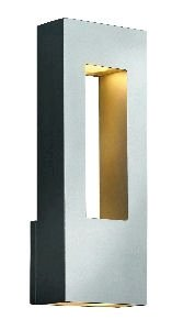 Atlantis Titanium Outdoor Wall Light - 8