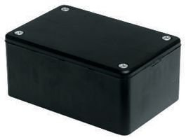 Hammond Construction Box (Hammond 1591DSBK ABS Project Box Black by Hammond Manufacturing)