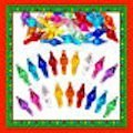 Ceramic Christmas Tree Lights 100 Assorted Large Starlight