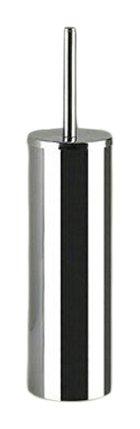 Gedy Gedy GE33-13 Genziana Cylindrical Toilet Brush Holder, 0.8'' L x 3'' W, Chrome