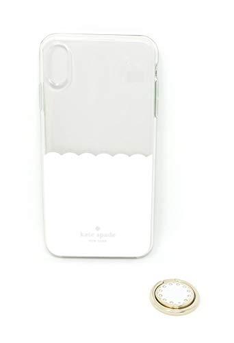 Kate Spade New York iPhone Xs Max Hardshell Case + Ring KS-GFTSET-064 Clear