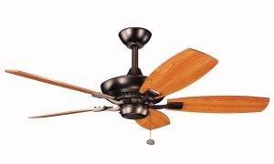 Kichler 300107OBB 44`` Ceiling Fan Hunter 44' Ceiling Fan