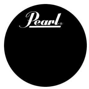 pearl bass drum head - 1