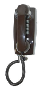 cortelco-kellogg-2554-wall-mount-phone-bn-telephony-with-vol-cntrl