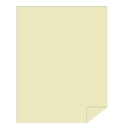 Springhill Colored Paper, Heavy Paper, Ivory Paper, 28/70lb, 104 gsm, 8.5 x 11, 1 Ream / 500 Sheets - Opaque, Thick Paper (024157R) by Springhill (Image #1)