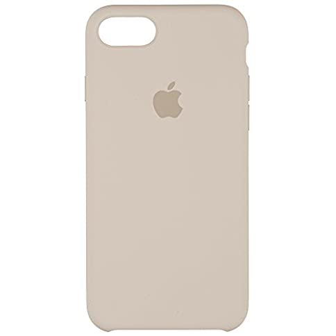 - 21a 2BEBMYcVL - Apple iPhone 7 Silicone Case – Stone, MMWR2ZM/A