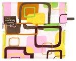Kushies On The Go Snack Bag, Pink Square, Medium