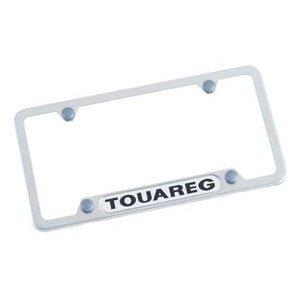 vw touareg license plate frame - 2