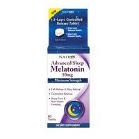 Avancée sommeil mélatonine, Force maximale, 10 mg, 60 comprimés (Multi-Pack)