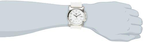 Swiss Legend Men's 40030-02 Sportiva White Textured Dial White Silicone Watch
