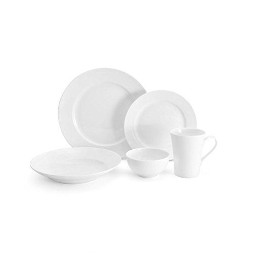 Mikasa Lucerne White 40-Piece Dinnerware Set