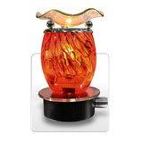 Orange Swirl Oil Warmer + Nightlight, Health Care Stuffs