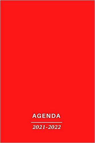 AGENDA 2021 2022: Pianificazione mensile a 2 anni, calendario di