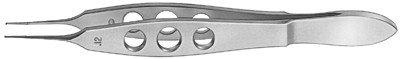 Bonn Forceps Delicate 1x2 Teeth 0.12mm Titanium