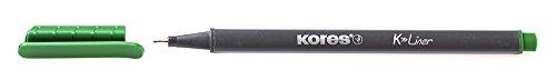 Kores FL28104Fineliner Pen 0.4mm Light Green