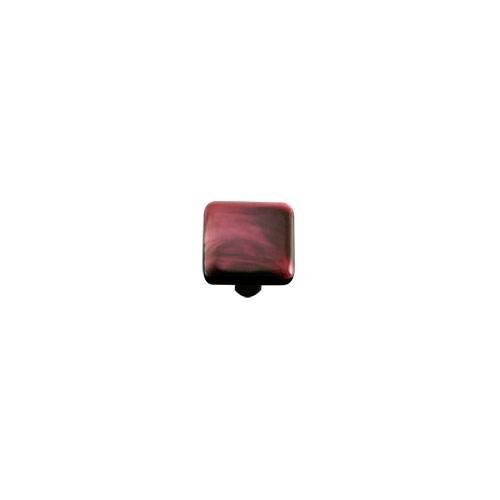 Dark Cranberry Swirl Knob (Set of 10) -