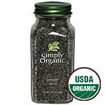 Simply Organic Poppy Seed Whole ORGANIC 3.81 oz. Bottle - 3PC