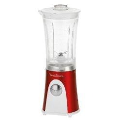 Moulinex Mini Multi Deluxe Batidora de vaso 0.8L 300W Rojo, Color ...