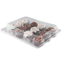The Bakers Pantry Cupcake Boxes- Cupcake Containers 24 Pack Cupcake, Cupcake Box Container Holds 12 Cupcakes (24, 12-Compartment) by The Bakers Pantry (Image #4)