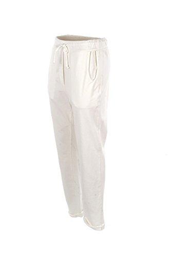 Pantalone Donna Le Streghe M Bianco P17no201 Primavera Estate 2017