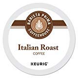 Limited Edition Barista Prima Coffeehouse Italian Roast K-Cups 96ct for Keurig Brewers - Packaging May Vary by Barista Prima