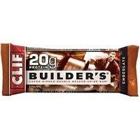 Barra de Clif Builder barra Chocolate - 2,4 oz (valor a granel multi-pack)