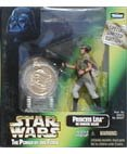 Star Wars-Princess Leia in Endor Gear with Exclusive Collector's -