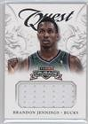 Brandon Jennings (Basketball Card) 2012-13 Panini Crusade - Quest Memorabilia #28