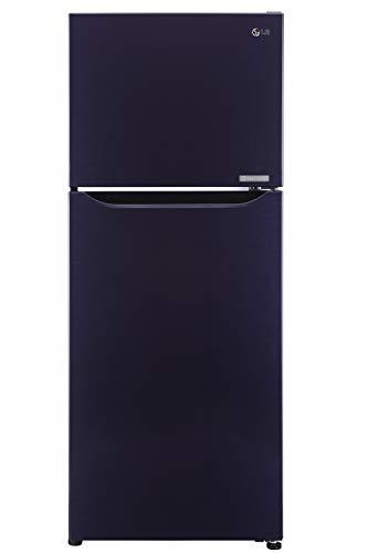 LG 260 L 2 Star   2019   Frost Free Double Door Refrigerator  GL P292SCPR, Dark Purple, Smart Inverter Compressor