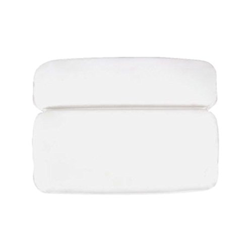 (Yardwe Bath Pillow Bathtub Spa Pillow with Non Slip Suction Cups Waterproof for Bath Cushion Head Neck Back Support Fits All Hot Tub Whirlpool Jacuzzi)