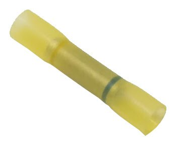 - 16-14 to 12-10 Ga. Step-Down Heat-Shrink Butt Splice Terminals - (Pack of 10)