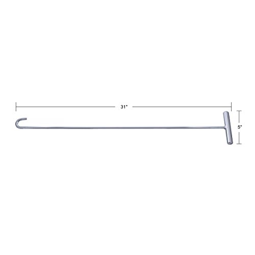 United Pacific 90010 Chrome 31'' Fifth Wheel Pin Puller by United Pacific (Image #4)