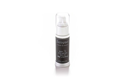 After Black Balm Shave (The Gentlemens Refinery 'Black Ice' After Shave Balm TSA Travel Size, All-Natural & Organic, 30ml)