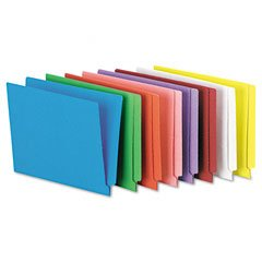 Pendaflex Colored End Tab Folders With Reinforced Double-Ply Straight Cut - Straight Cut End Pendaflex