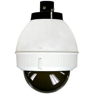 Housing Dome 7 Tinted - Videolarm IFDP75TN, IP Network Ready Indoor Dome Housing with Pendant Mount, Tinted Dome