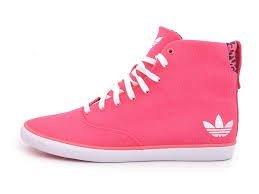 Adidas Azurine Baskets Mid W, Rose, g95432