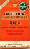 Dang Gui Wan (Angelica Dang Gui Teapills), 200 ct, Min Shan