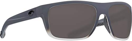 Costa Del Mar - Ocearch Broadbill - Matte Fog Grey Frame-Grey 580 Poly Polarized Lenses