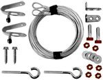 (Garage Door Parts Spring Containment Kit ( Extention Springs))