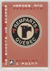 Quebec Remparts  Hockey Card  2006 07 In The Game Heroes And Prospects   Redemption He Shoots He Scores Points  Qure