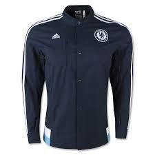 Adidas Chelsea Anthem Jacket - Blue/White (Adidas Chelsea Jacket)