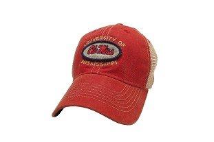 Ole Miss Rebels Hat Adjustable Trucker Style]()