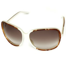 AUTHENTIC CHRISTIAN DIOR DIORITA 1/S LY4 /S2 HAVANA/ IVORY PLASTIC FRAME BROWN GRADIENT LENS SUNGLASSES - Cheap Sunglasses Authentic