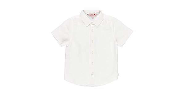 Camisa Lino Manga Corta de niño: Amazon.es: Ropa