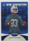Mirror Small Jasper - Jasper Collins #4/100 (Football Card) 2013 Panini Certified - [Base] - Mirror Blue #242