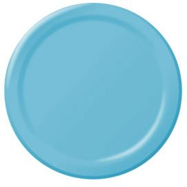 - Amscan Caribbean Blue Big Party Pack Dinner Plates (50)