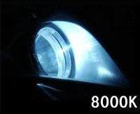 Klarheit HID H1 Xenon Light Car Headlight Single Beam 2 Pcs Color Temperature 8000K Color Blue