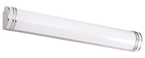 Cloudy Bay LED Bathroom Vanity Light,48 inch 4000K Cool White,35W Dimmable Bath Bar,Brushed Nickel by Cloudy Bay (Image #2)